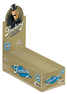 Smoking Gold Double N°8 x 25 unidades